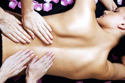 4händige Massage